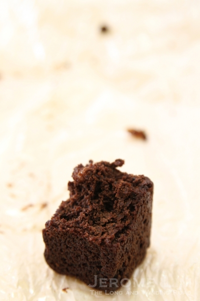 Not normally a brownie fan, the Choco Bomber won me over - thought it was just right, not too sweet or overpowering.