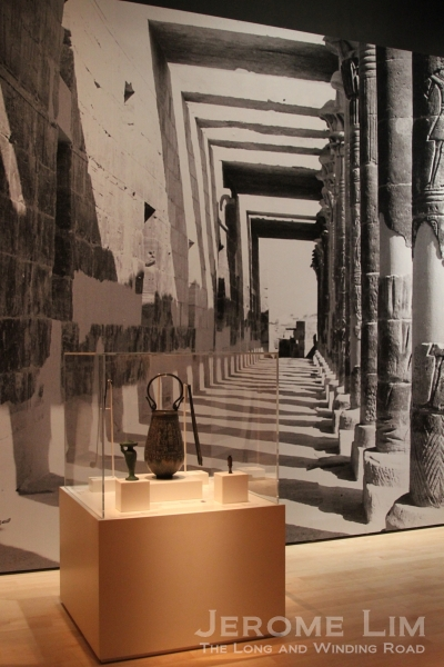 Another view of the Life in Ancient Egypt Gallery - with its huge backdrops which take you right into Ancient Egypt.