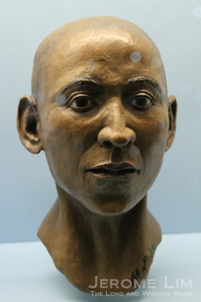 A reconstruction of the head of Nesperennub.