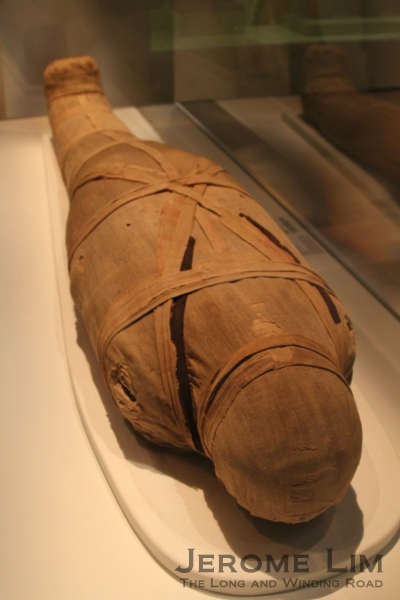 The mummy of Shepenmehyt.