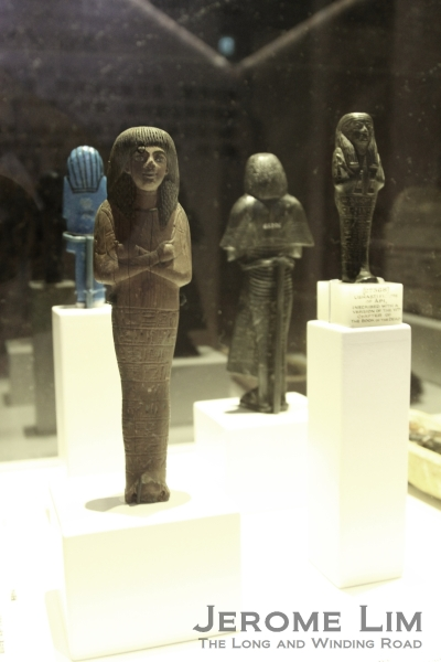 A close-up of the Shabti.