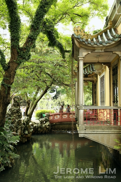 A secret garden in Macau where touch of Suzhou in a colonial style house can be found.