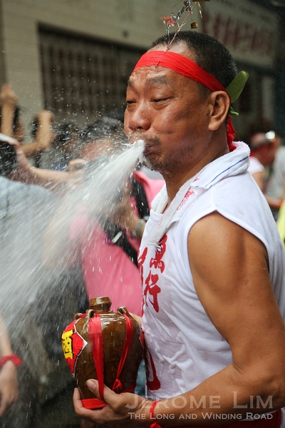 The feast of the Drunken Dragon is celebrated with a drunken frenzy on the streets of Macau.