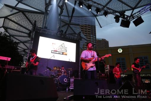 Carlos Castaño opens the three day music festival.