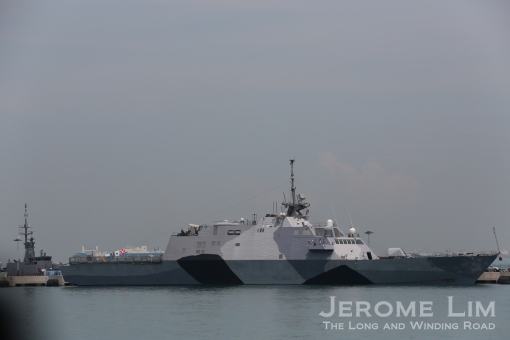 Visits may also be possible to foreign naval vessels such as the USN's LCS.