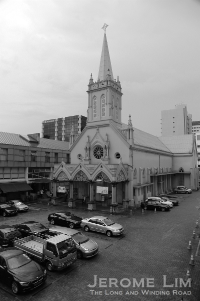 The Church of Sts. Peter and Paul in Queen Street.