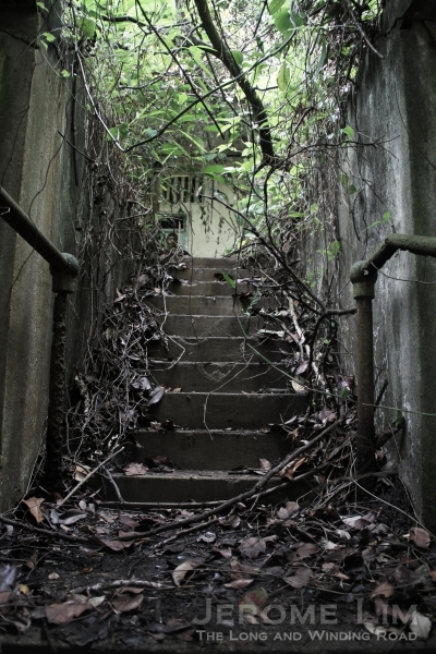 A stairway.