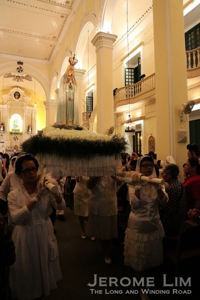 The feast of Our Lady of Fatima is one way in which the Portuguese heritage of Macau is celebrated.