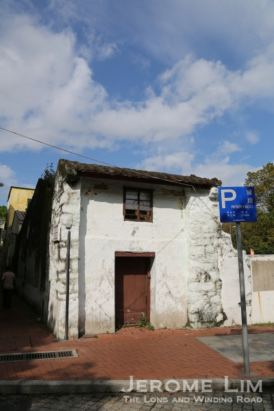 A house in Coloane.
