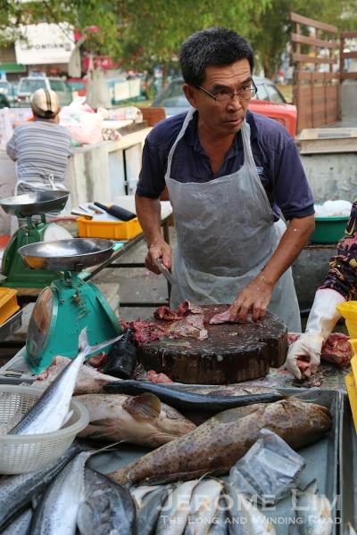 A fishmonger.