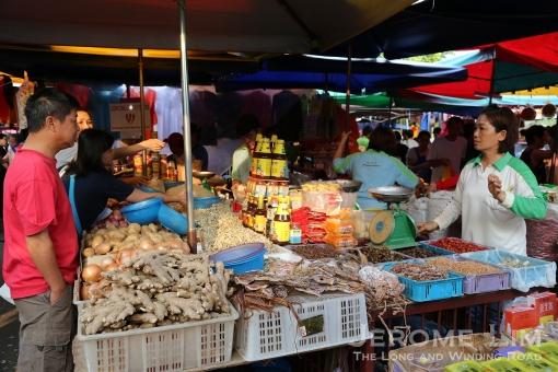 A dry goods vendor.