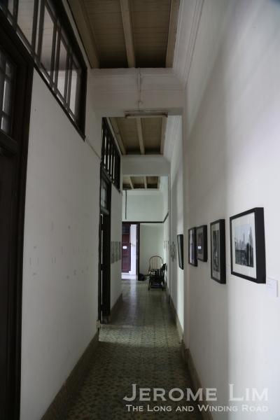 The passageway past the main hall.