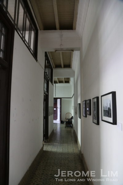 The passageway past the main hall.
