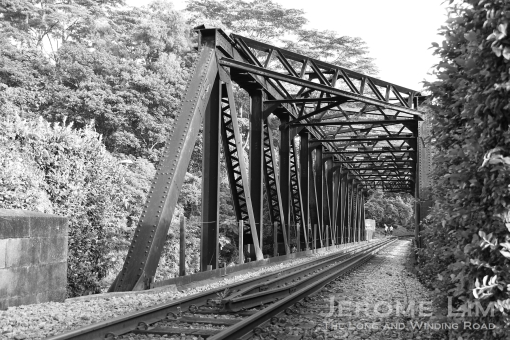 The truss bridge at the 9th milestone.