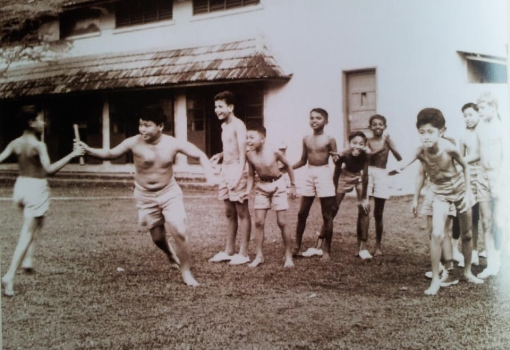 P.E. time - it was probably the adventures outside the classrooms that are best remembered.