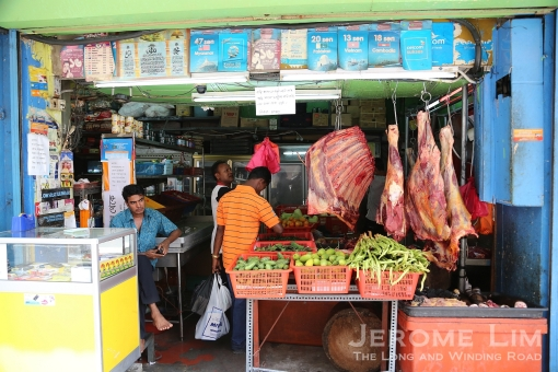 Along Lebuh Pudu - business have sprouted up catering to the migrant Bangladeshi population.