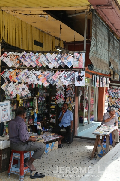 A hole-in-the-wall convenience shop along Jalan Sultan.