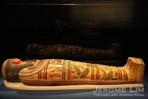 The mummy of Nesperennub at Mummy: Secrets of the Tomb.