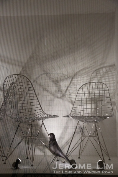 The Eames Wire Chair.