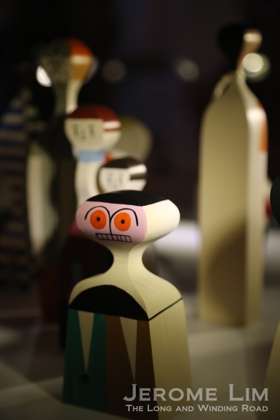 Vitra dolls designed by a close associate of Charles and Ray Eames, Alexander Girard.