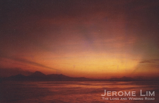 Sunrise over the Volcán San Cristóbal as seen from the Pacific Ocean, December 1984