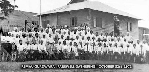 The Gurdwara at View Road Barracks, 1971