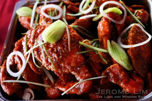 And chilli crabs!