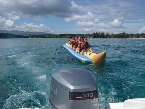 On the Banana Boat.