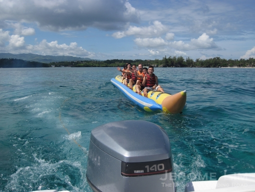 On the Banana Boat.