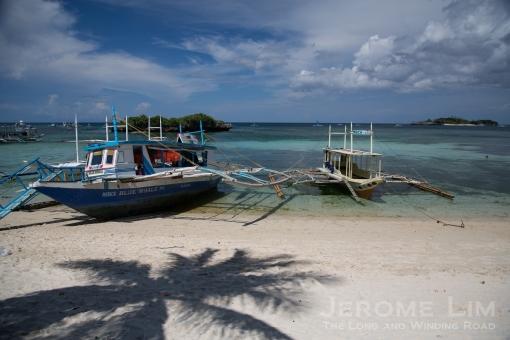 Tambisaan Beach.