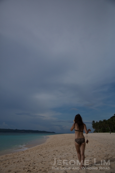 Life's a beach on Boracay - any time of the day.