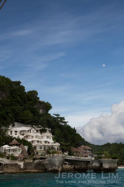 The along the northwestern coast of Boracay.