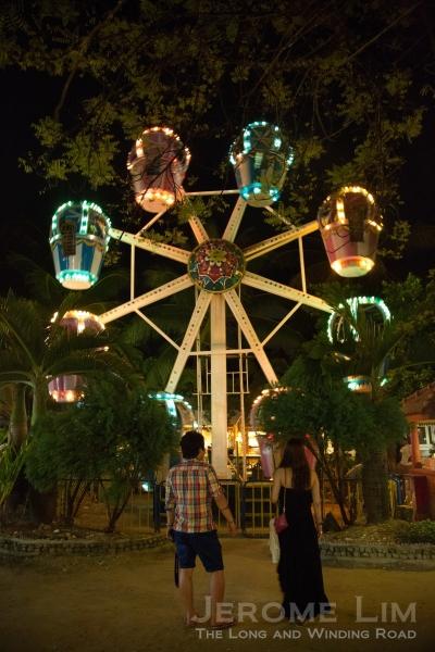 A ferris wheel at D'Mall.