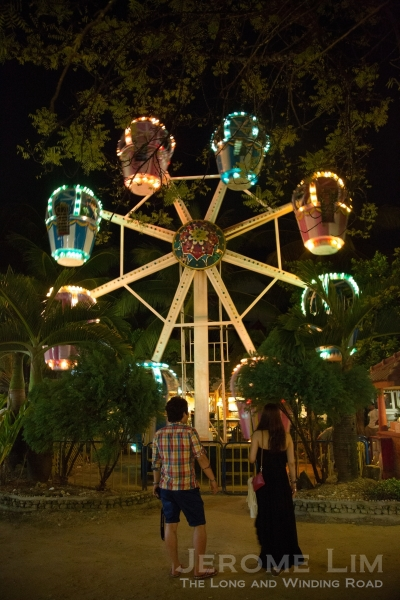 A ferris wheel at D'Mall.