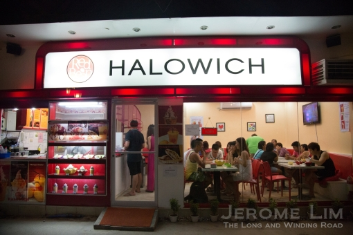 A sandwich shop at D'Mall.