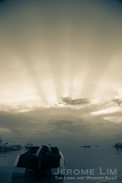 Sunrise at Bulabog Beach.