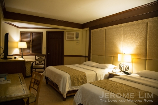The three bedded Deluxe Room at the Boracay Regency.