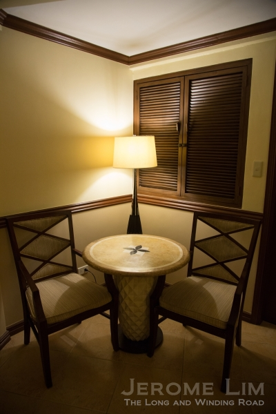 Inside the Deluxe Room.