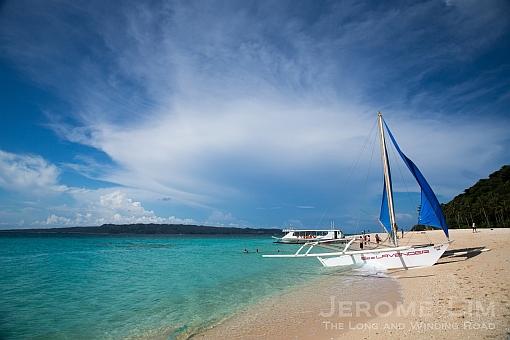 Boracay's Puka Beach.