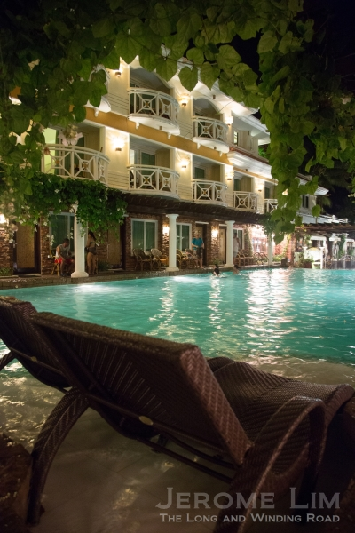The Boracay Mandarin's Swimming Pool.