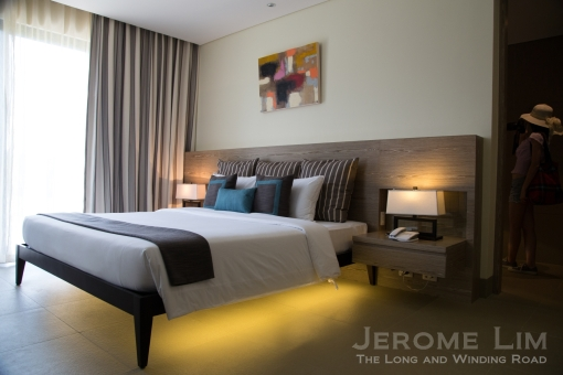 Another bedroom inside a suite.