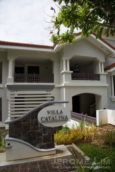 The Villa Catalina.