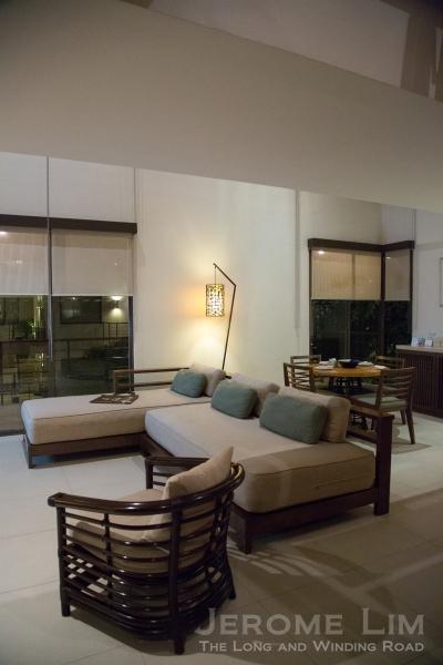 Inside a suite.