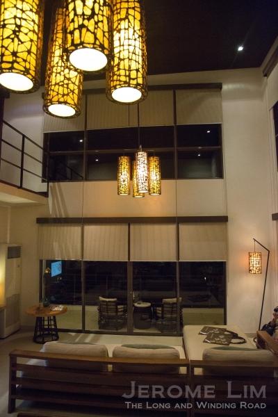 Another view inside a loft suite.