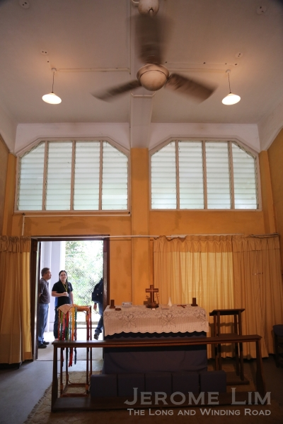 A view of the chapel.