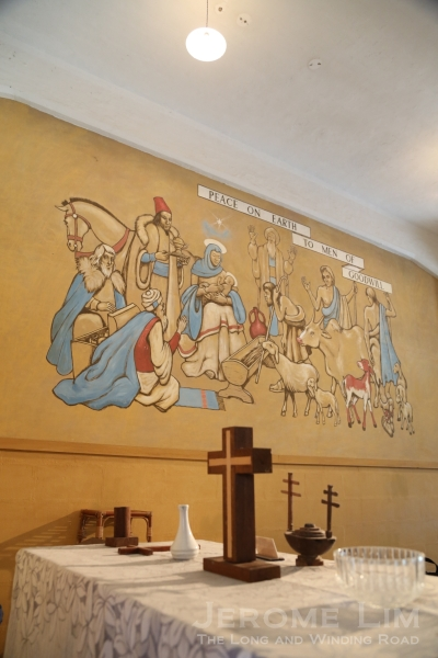 The chapel and murals were a light in the darkness of captivity during the dark days of World War II.