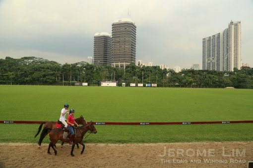 The Singapore Polo Club has occupied its current grounds since 1941.