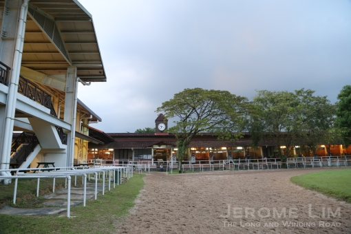 The Polo Club's Indoor Arena and Stables.