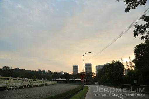Jalan Mashhor at sunrise.