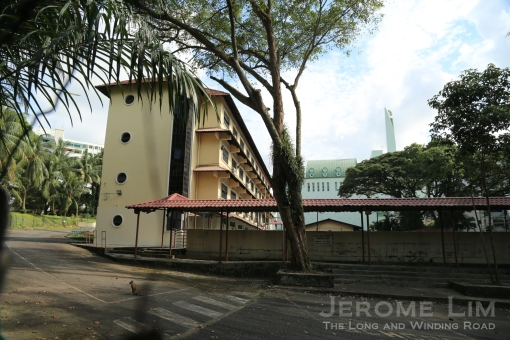 The grounds of the former De La Salle School which opened in 1952 are right next to the keramat.